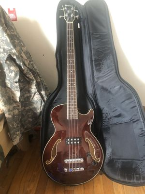 Ibanez hollow body bass guitar for Sale in Waterbury, CT