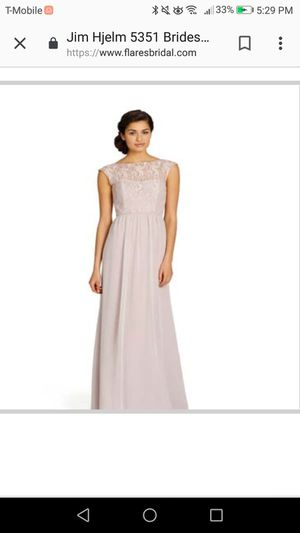 Jim Hjelm 5351 Bridesmaid Dress Size 4 for Sale in Buena Park, CA