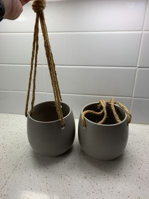 Hanging Flower Pots for Sale in Scottsdale, AZ