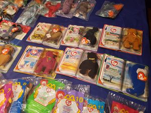 TY Beanie Babies (55) total. Unopened in Orignal Package. *Make Offer* for Sale in North Richland Hills, TX