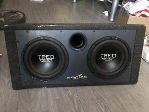 Massive Bangers!!! Treo SSI 10's with ported box for Sale in Riverside, CA