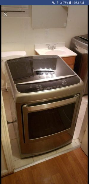 LGhe was washer and electric dryer for Sale in Pittsburgh, PA