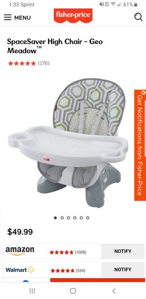 Fischer price booster seat for Sale in Irving, TX