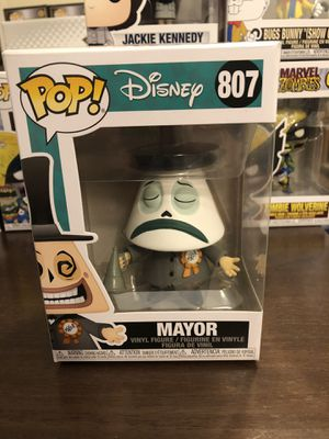 Mayor #807 Funko Pop The Nightmare Before Christmas for Sale in Apopka, FL