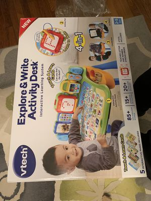 "2-5 year old ""Explore & Write Activity Desk for Sale in Richardson, TX"