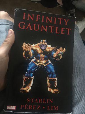 Infinity gauntlet comic for Sale in Alameda, CA