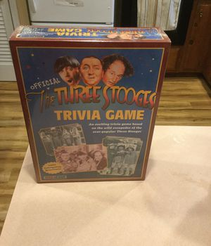 The Three Stooges Trivia Game The Year 2000 for Sale in Haverhill, MA
