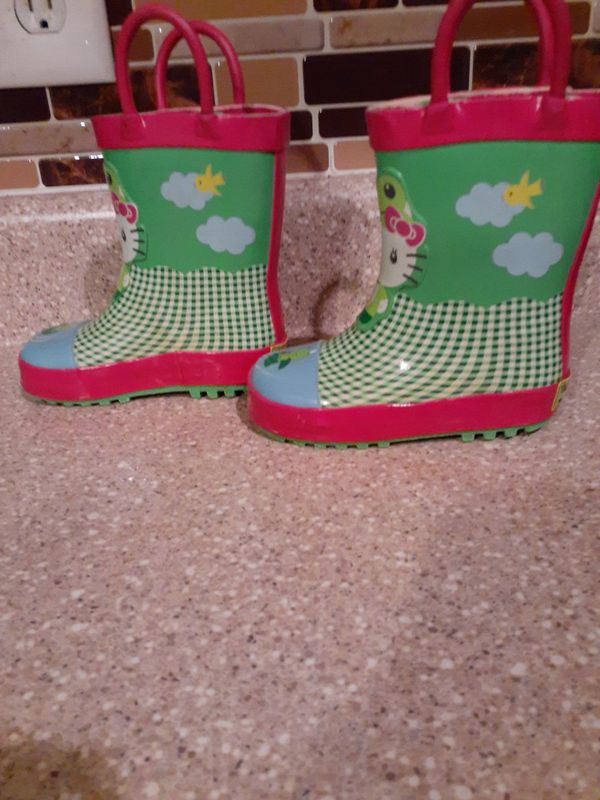 Hello Kitty Rain Boots