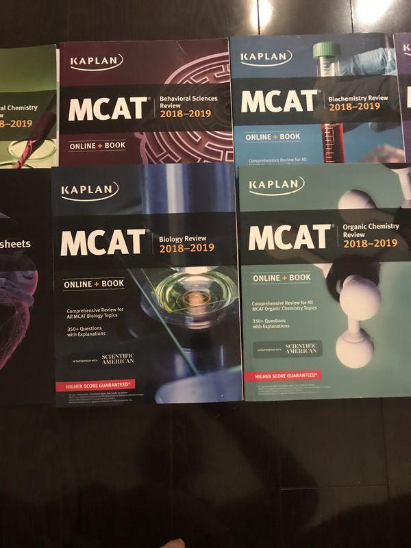 Kaplan MCAT Complete 7-Book Subject Review 2018-2019