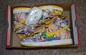 Brand New Nike Scribble Dunks Size 6.5Y = 8.5 Women for Sale in Pittsburgh, PA