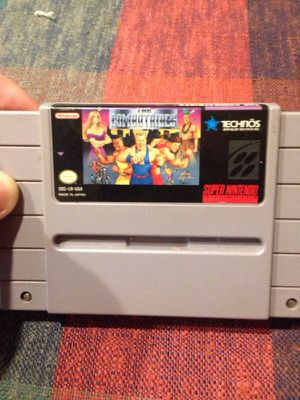 Super Nintendo Combatribes game RARE for Sale in Atlanta, GA