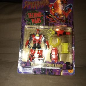 Spiderman Techno Wars Action Figure for Sale in Wildomar, CA