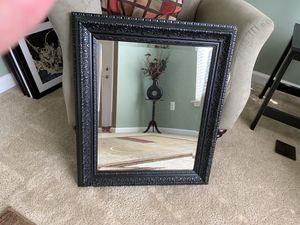 Black wall mirror for Sale in Fredericksburg, VA