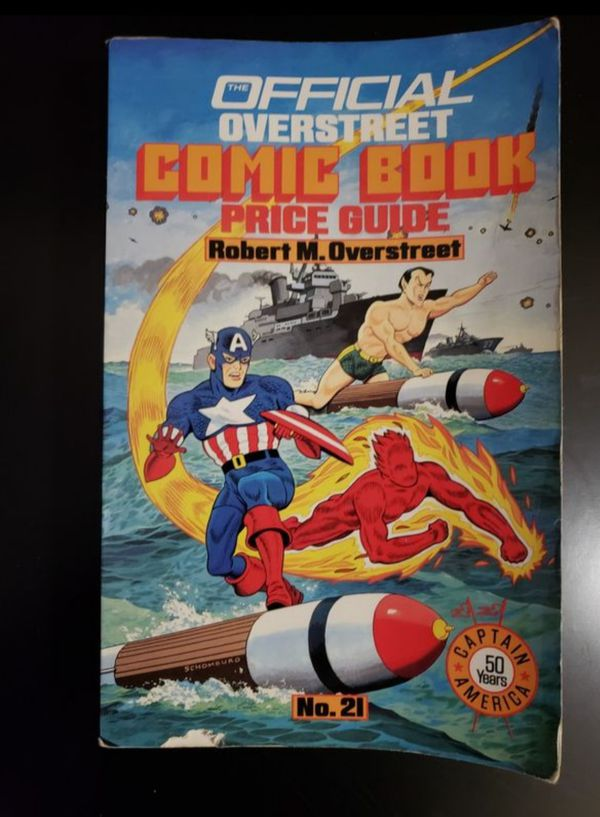 The Official OVERSTREET COMIC BOOK PRICE GUIDE 21st Edition Paperback 1991