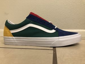 Size 11 blue/green Old Skool Yacht club-style vans for Sale in Glendale, AZ