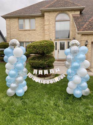 Happy anniversary balloon columns for Sale in Elgin, IL