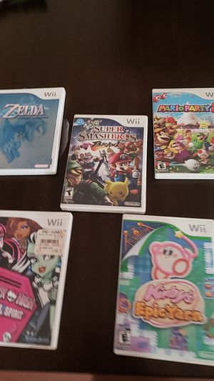 Wii games for Sale in Vallejo, CA