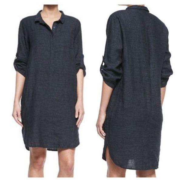 Eileen Fisher Henley Dress