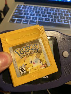 Pokémon Yellow version for Sale in Lodi, CA
