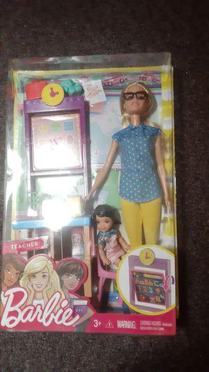 Barbie doll set teacher for Sale in Everett, WA