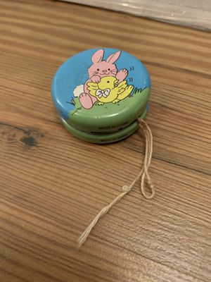 Vintage Tin Yo-yo Collectable Bunny Easter Toy for Sale in Davenport, FL