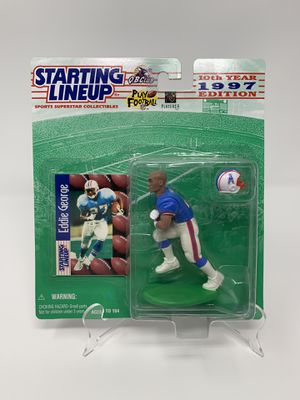 Vintage Houston Oilers/Tennessee Titans/Ohio State Buckeyes/NFL Legend Eddie George STARTING LINEUP ACTION FIGURES [Brand New] for Sale in Washington, DC
