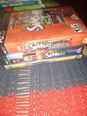 19 Different Sims Computer Games Bundle for Sale in San Diego, CA