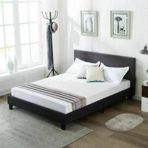 Like new queen size bedframe and mattress for Sale in Johnston, RI