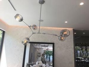 Silver chandelier lighting for Sale in Beverly Hills, CA