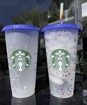 Starbucks Confetti Cups for Sale in La Habra Heights, CA