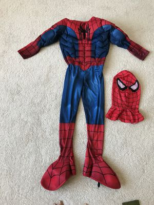Spider-Man with mask Halloween costume for Sale in Chantilly, VA