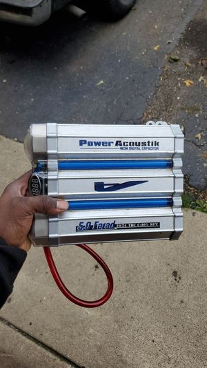 Power Acoustik digital Capacitor for Sale in Barrington, IL