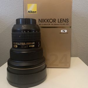 Nikon Lens 14-24 mm for Sale in Fontana, CA