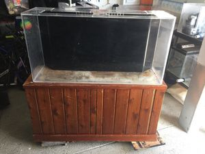 75 gallon acrylic fish tank aquarium for Sale in Fontana, CA