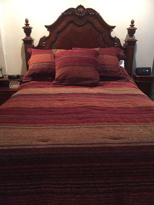 Beautiful Queen 3 Piece Bedroom Set for Sale in San Mateo, CA