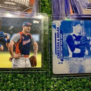 Topps 2020 Cyan Printing Plate 1 Of 1 Baseball Card Nolan Arenado Christian Yelich All Stars for Sale in Emmaus, PA