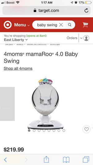 4Moms MamaRoo 4.0 swing for Sale in Pittsburgh, PA