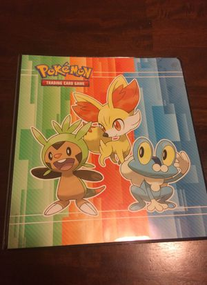 Pokemon cards (over 1000 cards) with binder for Sale in Milford, OH