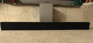 Vizio Soundbar with Bluetooth Sub Woofer for Sale in Bakersfield, CA