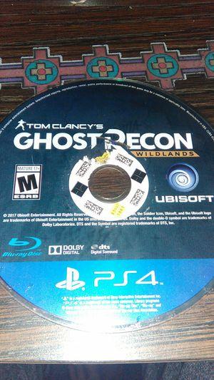 Ghost Recon wildlands(PS4) for Sale in Phoenix, AZ