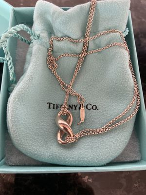 Tiffany & Co. Infinity Necklace for Sale in Gilroy, CA