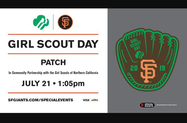 SF Giants Tickets Girl Scout Day