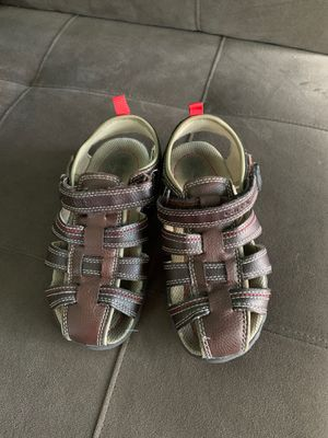 Size 12 toddler sandals for boys for Sale in Wellington, FL