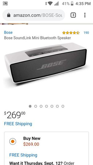 Bose sound link & Skullcandy wireless headphones for Sale in Las Vegas, NV
