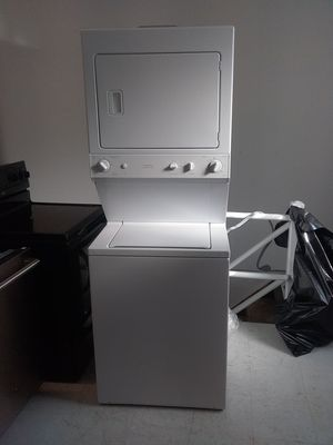 Ge ,kenmore stackable washer and dryer used good condition 90days warranty for Sale in Mount Rainier, MD