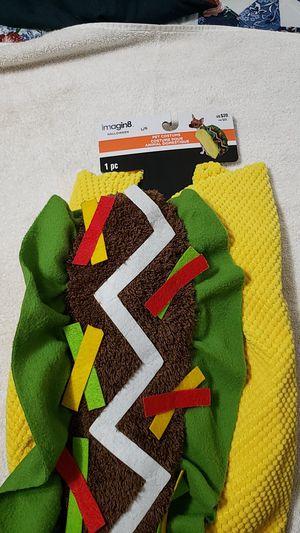 Pet costume Taco for Sale in Tacoma, WA