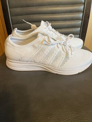 Brand new men's nike flyknit trainer all white size 10 no box for Sale in San Antonio, TX