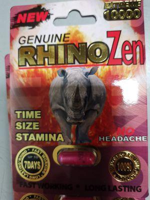 Disfunction erectil rhino zen 10mil ereccion 6piezas for Sale in Spring Valley, CA