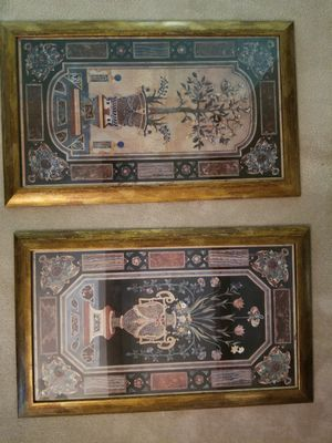 "2 - 27""x43.5"" ornate, framed pictures for Sale in Ruston, LA"