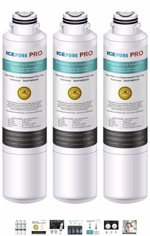 ICEPURE PRO NSF53&42 Certified DA29-00020B Replacement Refrigerator Water Filter, Compatible with Samsung DA29-00020B, DA29-00020A, HAF-CIN/EXP, HAF- for Sale in Maryland Heights, MO